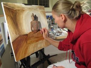 Anna Starkova painting