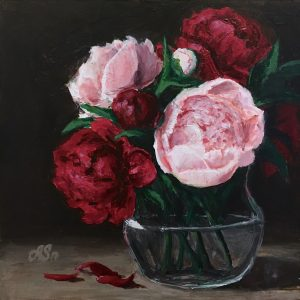 """""""Peonies of love"""" <span style=""""font-size:30px; color:#c30000;"""">•</span>"""