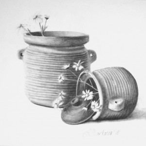 """Pots of luck II"" <span style=""font-size:30px; color:#c30000;"">•</span>"