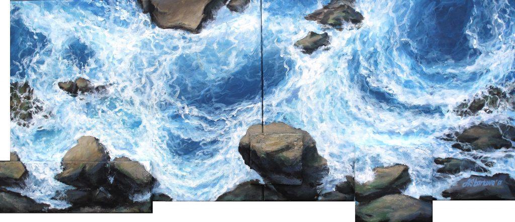 """Above the rocks II"""